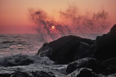 Pacific Sunset, California