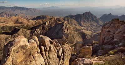 Rhyolite Formations on Mt. Lemmon, AZ