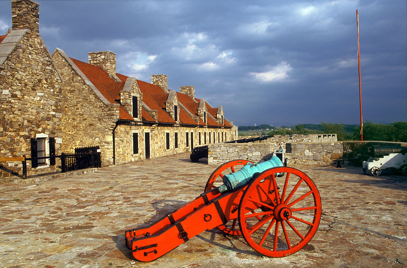 Black Powder Cannons, Fort Ticonderoga, New York