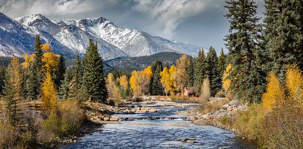 Autumn in San Juan National Forest, Colorado