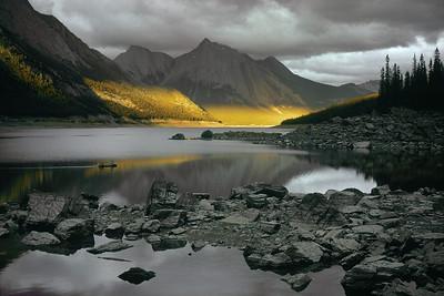 Medicine Lake, Canadian Rockies, Alberta