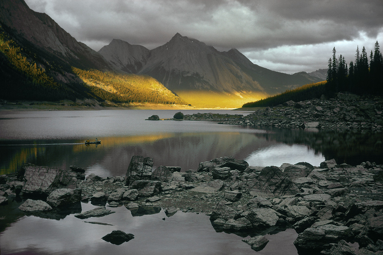 Medicine Lake, Canadian Rockies, Alberta