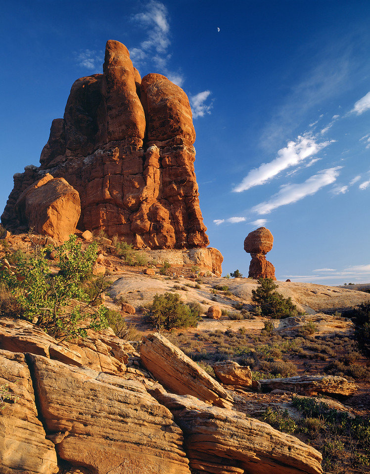 Balanced Rock, Arches National Monument, Utah