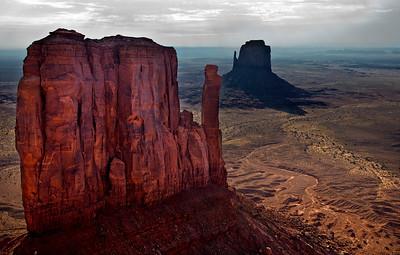 The Mittens - Monument Valley, Arizona