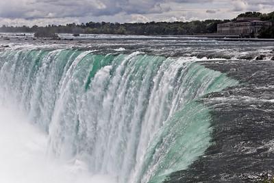 The Horseshoe Falls at Niagara Falls, Ontario