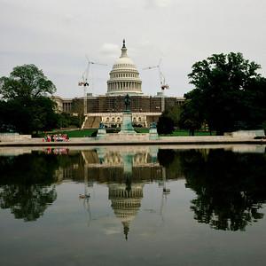 Capitol Building, Reflection Pool, Washington, D.C.