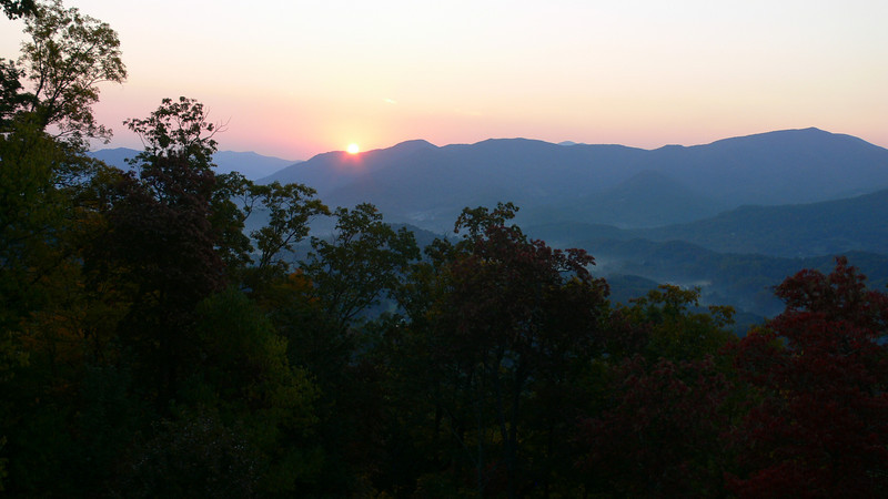 Sunrise in Waynesville