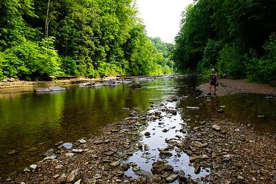 Blackburn River, Cummins State Park, Tennessee