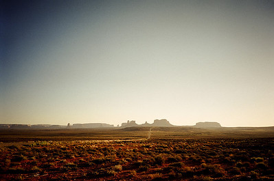 Monument Valley on the Navajo Indian Reservation, 1999
