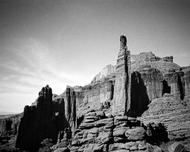 The Fisher Towers, Utah 2003