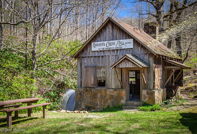 Barker's Mill on Betty's Creek Rd. in Rabun Gap, Ga.
