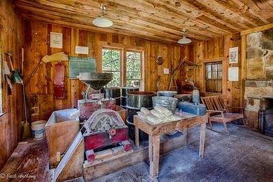 Inside Barker's Mill