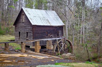 Ragsdale Mill - Mt. Olivet Rd., Homer, Ga.