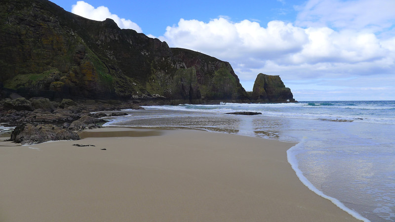 camas mor - the most beautiful, almost inaccessible beach