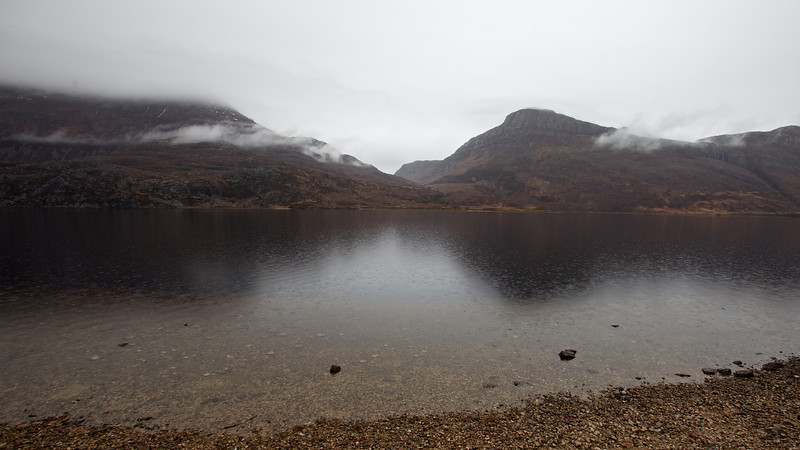 loch maree on the way home in the rain