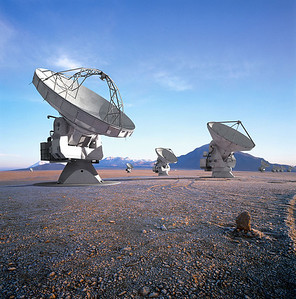 ALMA, one of the shooting locations for my next film, a global collaboration to make the oldest parts of the cosmos visible for the first time. At 17,000 ft, this is the highest observatory in the world and the largest astronomy project in human history.