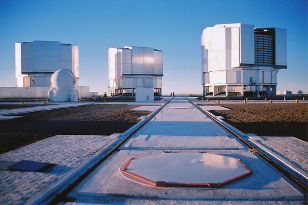 Very Large Telescope. Cerro Paranal, Chile.