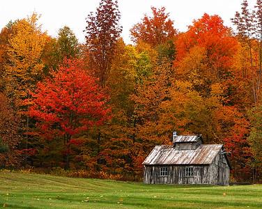 Fall, Burke, Vt