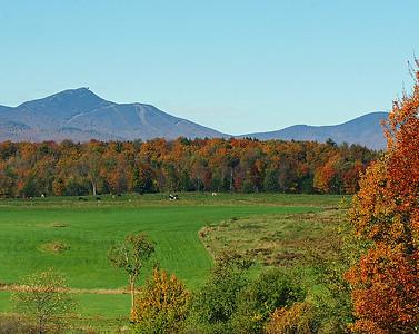 Jay Peak In Fall, Jay, VT
