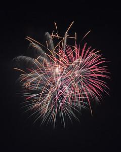 Burke Mountain Fireworks, Burke, VT