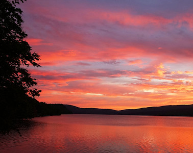 Seymour Lake Sunrise Looking North, Morgan, Vt