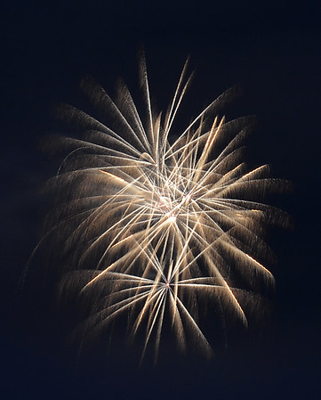Burke Mountain Fireworks 1, Burke, VT