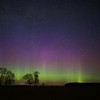 Northern Lights Hadrian's Wall Northumberland 2017