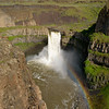 The Palouse Falls in eastern Washington State.