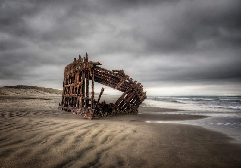 Wreck of the Peter Iredale - Oregon
