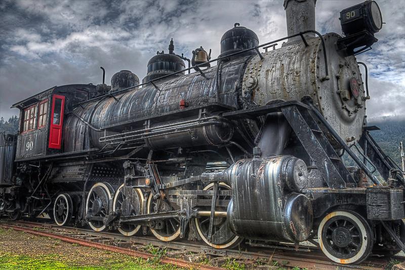 Engine 90 - Oregon