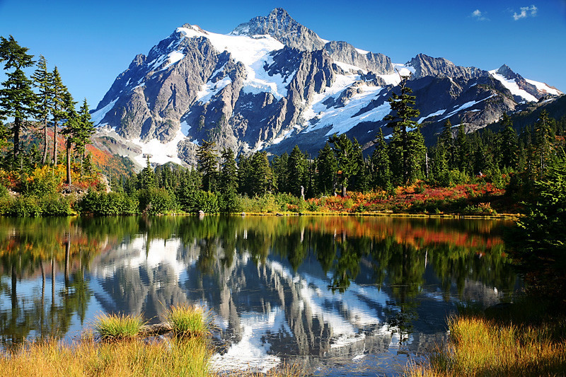 Mount Shuksan, Fall - Washington