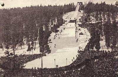 Holmenkollen in 1924.