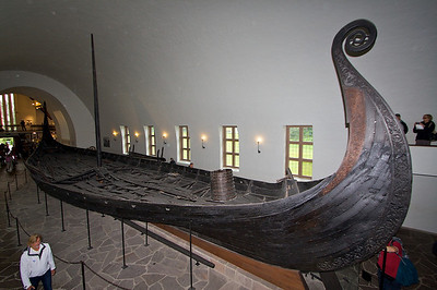 The Oseberg ship. With out these boats there would have been no Viking age.  http://en.wikipedia.org/wiki/Oseberg_ship