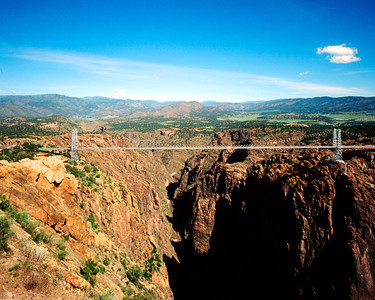 Bridge over Royal Gorge, Colorado