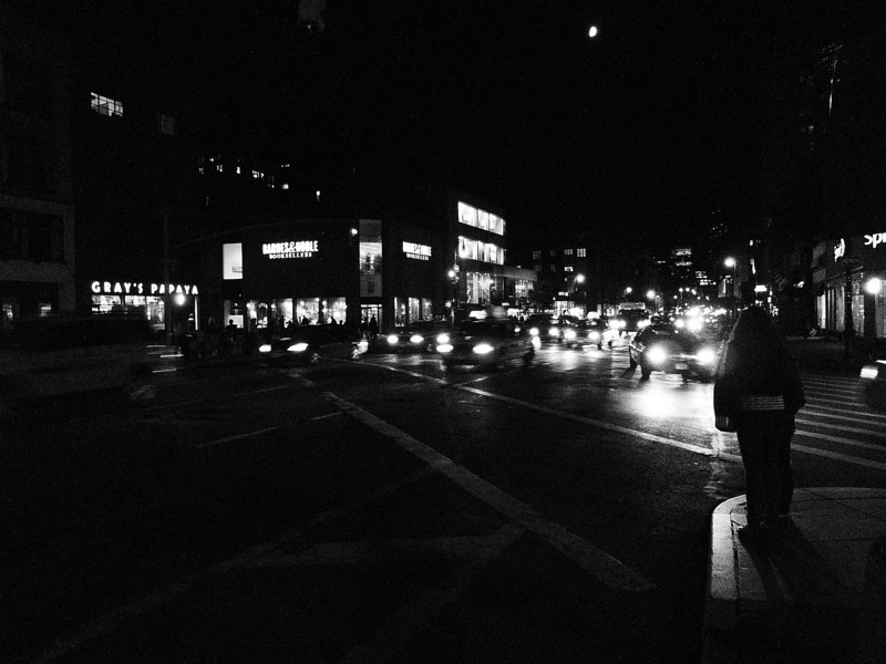September 15, 2010. <br /> <br /> Night on Sixth Avenue.