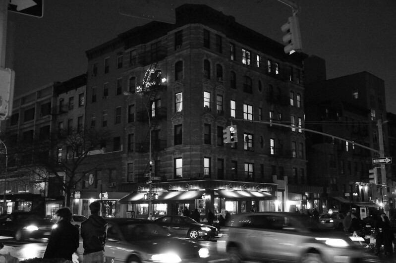1/2/11 Daily Photo.<br /> <br /> Taken last night in the East Village. <br /> <br /> I like the energy and movement.