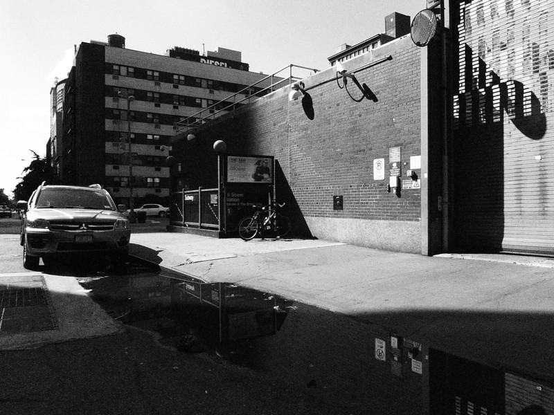 July 17th , 2011 Daily Photo.<br /> <br /> Hot July Sunday afternoon 18th Street blues.