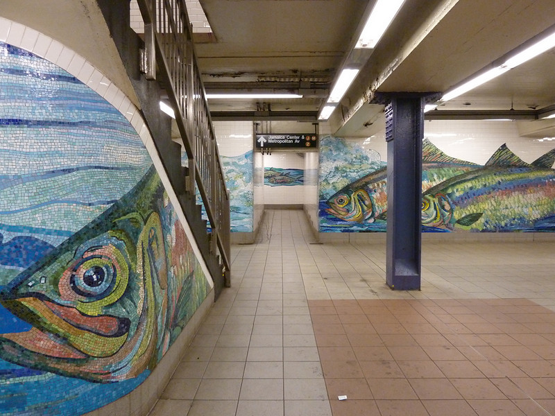 May 2, 2010.<br /> <br /> Fish, fish, fish.....<br /> <br /> Taken at the DeLancy Street subway station on May 1.