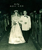 June 4, 1949.<br /> <br /> My parents leaving the church at their wedding at All Saints Church, Manhattan, 62 years ago today. <br /> <br /> My mother sadly passed away in March 2006.