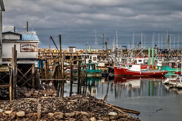 Working Boats in Digby, Nova Scotia, Canada
