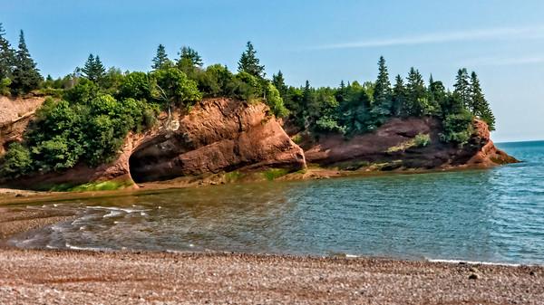 The Caves at St Martin, Nova Scotia