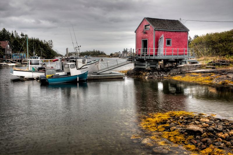 Fisherman's Shack - Nova Scotia