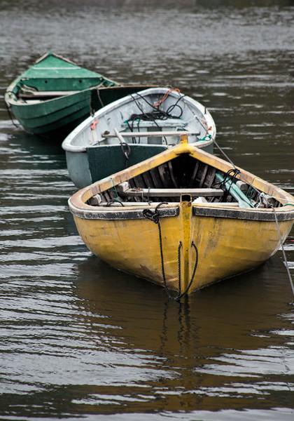 Rowboats in a Row - Nova Scotia