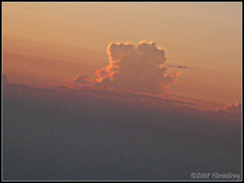 Cloud Study <br /> ©2008 FlorieGray