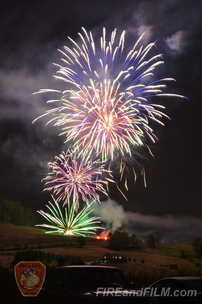 Nuremberg Celebration Fireworks - 09/04/2016