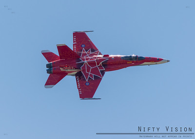 Canadian Royal Airforce F-18