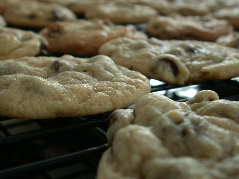 Cookie, cookie.
