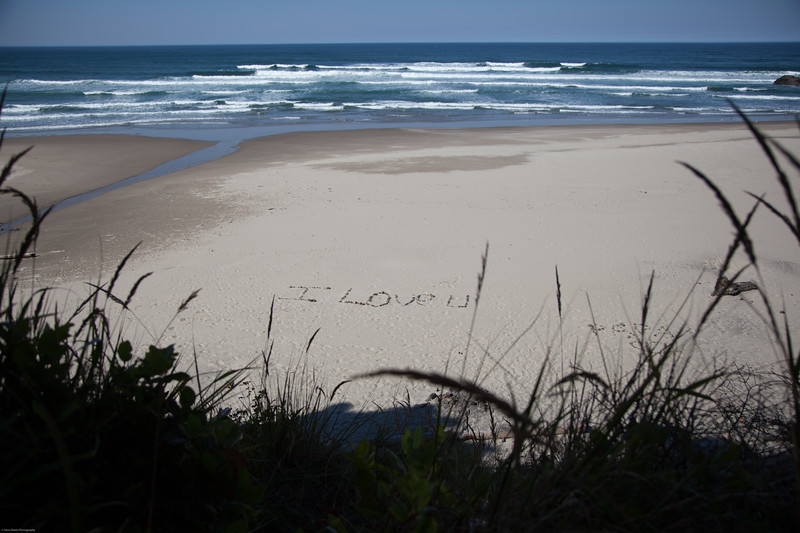 Message from Below<br /> Hug Point State Park, Oregon