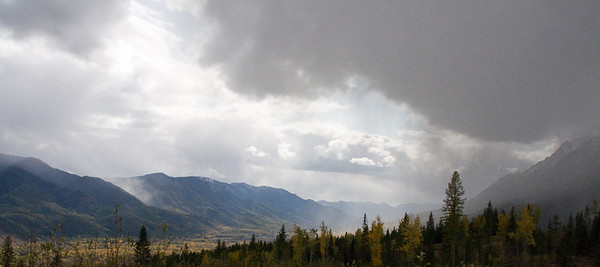 Rainstorm in the Elk Valley