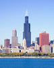 10-25-10: Sears Tower from Lake Michigan.